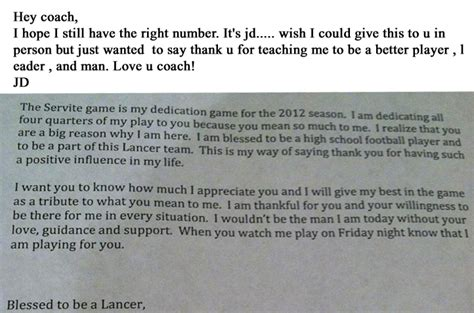 appreciation letter to a coach coach