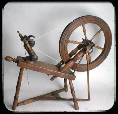 spinning wheel | my new (to me) 200 year old spinning