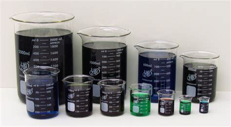 Gelas Set 2 6179 58lz beaker lab zap borosilicate glass set of 11