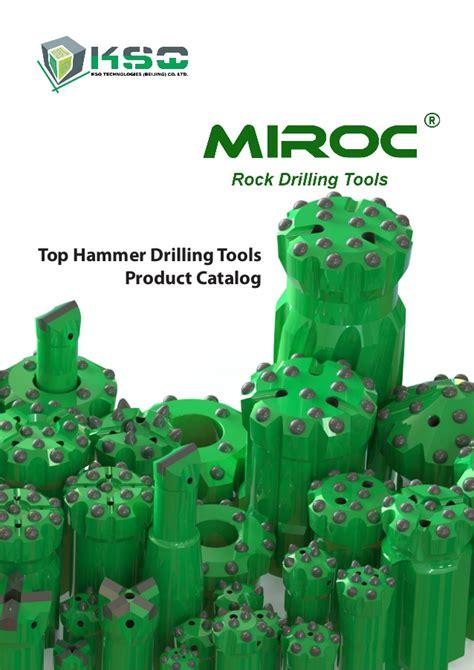 K Sq 2 ksq miroc top hammer drilling tools catalog