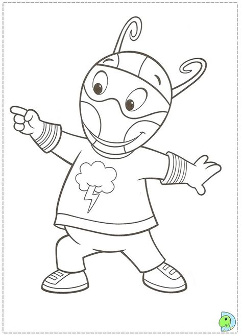 backyardigans halloween coloring pages pin backyardigans halloween coloring pages trend on pinterest