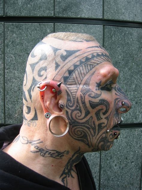 tattoo and body piercing modification