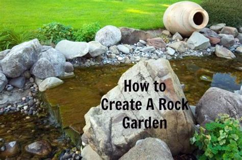 how to create a rock garden stay at home
