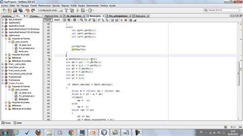 tutorial for netbeans 8 tutorial netbeans 6 8 algoritmo dda para dibujar linea y