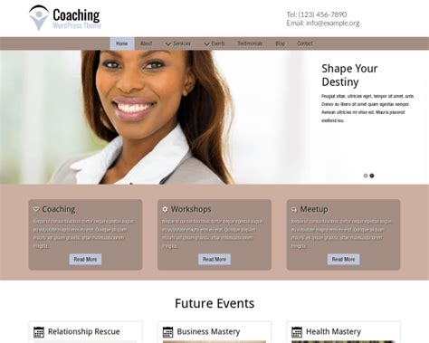 website templates for life coaches coaching wordpress theme made for life coaches