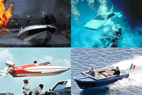 pictures  weird  wonderful world  james bonds boats ybw
