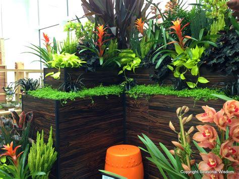 tropical plants for the garden fountains make splash at 2013 northwest flower and garden show