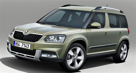 Gamis Yersi Polos facelifted 2014 skoda yeti comes in city and outdoor flavors