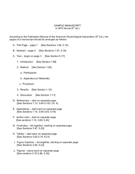 manuscript template sle manuscript sle assignment at