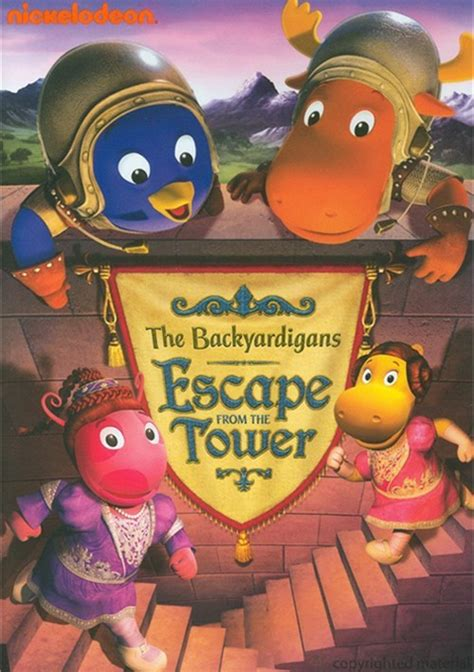 Backyardigans Escape From The Tower Backyardigans The Escape From The Tower Dvd Dvd Empire
