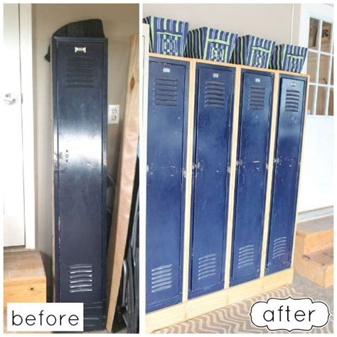 School Garage Cd by School Lockers Made New Use For Storage In The