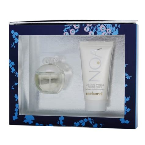 cacharel noa gift set eau de toilette and body lotion