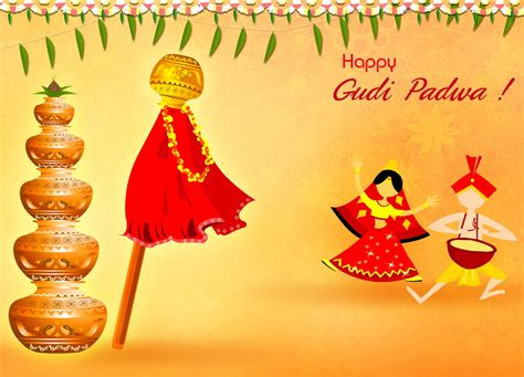 happy gudi padawa wishes ugadi marathi wishes greetings