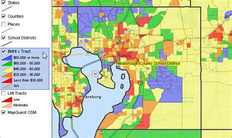 zip code map ta hillsborough county largest 100 school districts