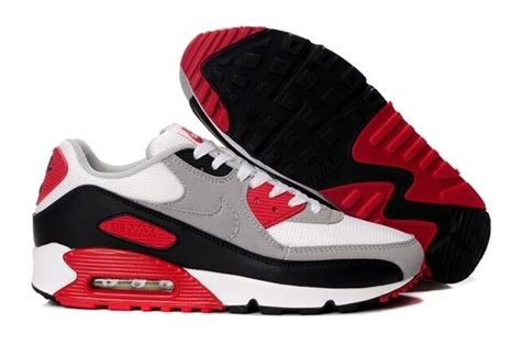 cheap nike air max 90 sports shoes for black white