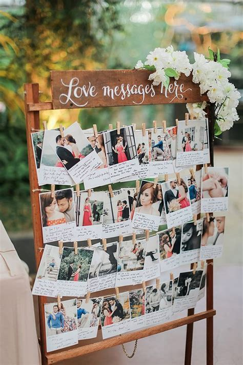 30 Creative Polaroid Wedding Ideas You'll Love   Deer