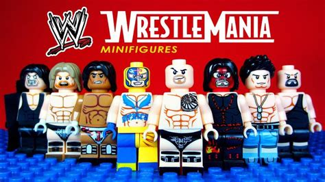 Minifig World Entertainment The Rock Undertaker 17 best images about on wrestlemania 31 jeff hardy and dean ambrose
