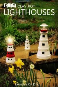 Decorative Lighthouses For In Home Use by Diy Clay Pot Lighthouses