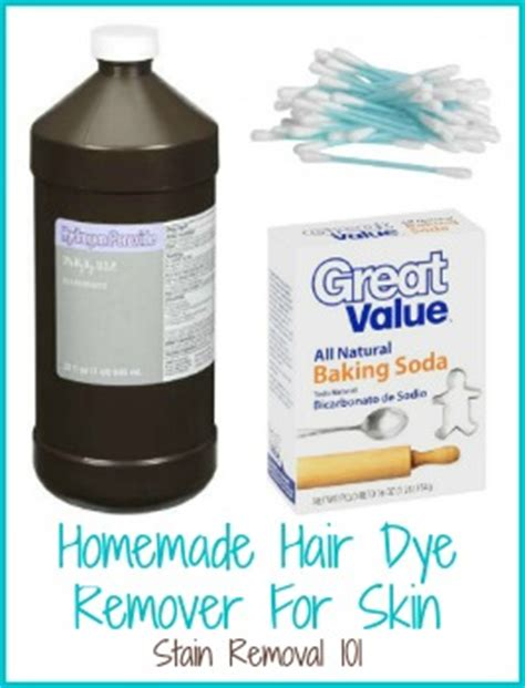 how to remove hair color from skin tips for removing hair dye from skin