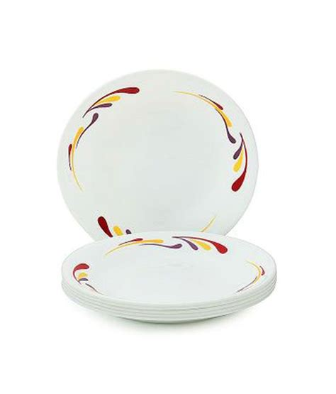 Small Cressendo Plate 1 Pcs corelle 6 pcs small plate india impressions celebration buy at best price in india