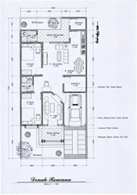 desain rumah mungil  artistik pt architectaria media cipta