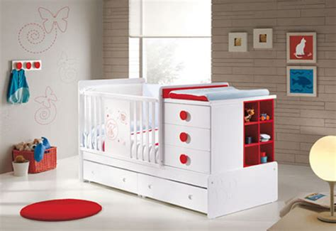 modern room and cozy baby nursery furniture from