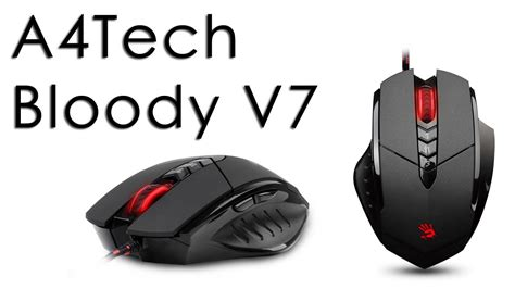 Mouse A4tech Bloody a4tech bloody v7 mouse review