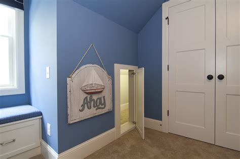 Secret Bedroom by Secret Passageway Between Kid S Bedrooms Traditional