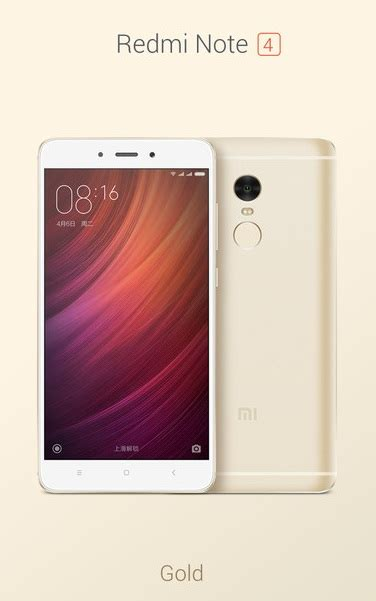 Redmi Note 4 Gold Ram 3gb 64gb jual redmi note 4 ram 3 gb rom 64 gb gold b2b mobile