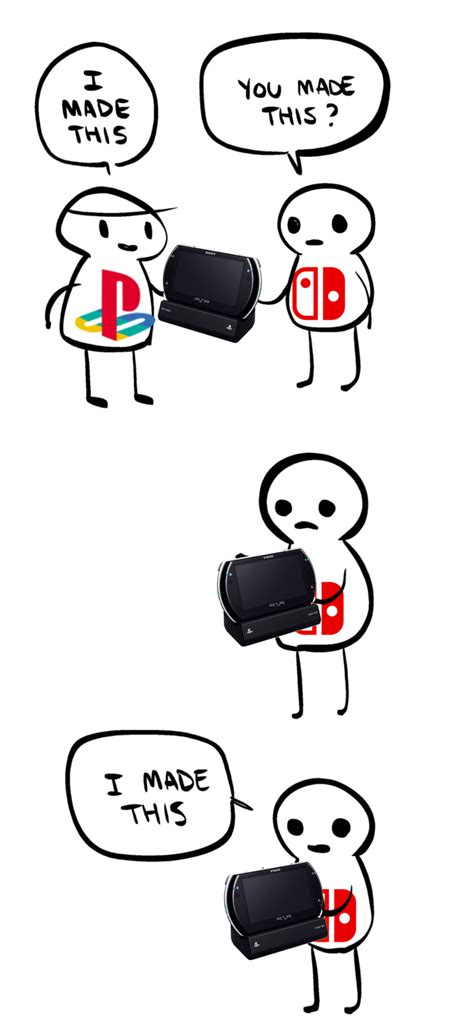 Nintendo Switch Memes - so much for the fear of getting the idea stolen nintendo switch know your meme
