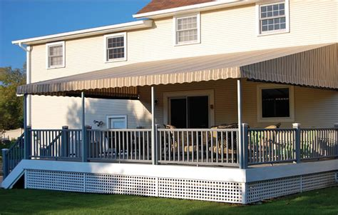 deck tarp awning deck canopies archives otter creek awnings