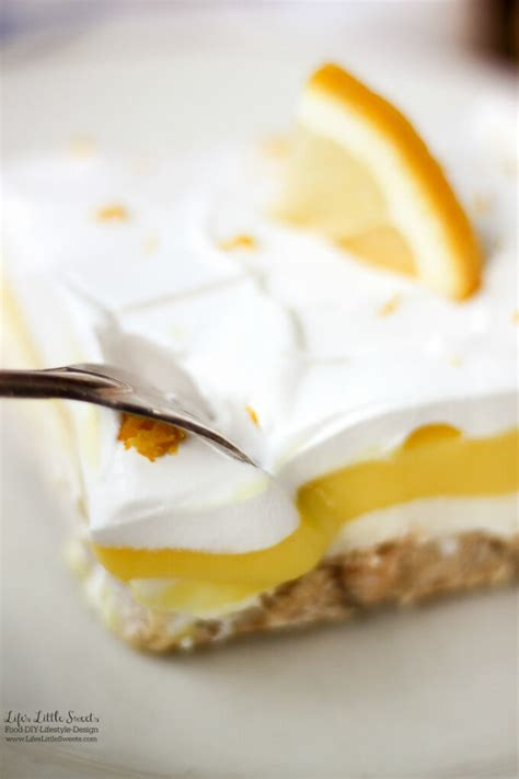 Dreamy Lemon Lush Dessert Recipe Pudding Cool Whip Light Pudding Recipe