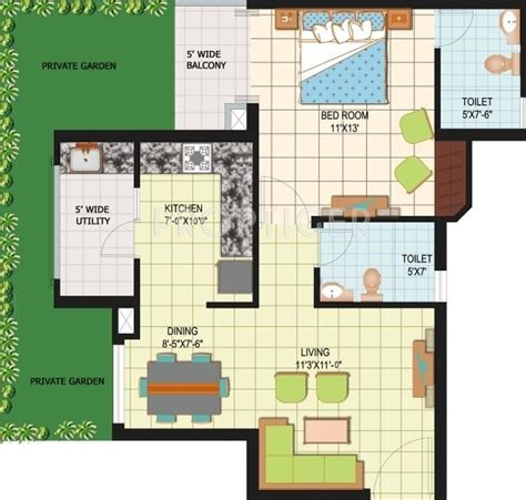 amrapali silicon city floor plan 1420 sq ft 3 bhk 2t apartments in amrapali silicon city
