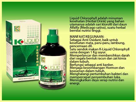 Suplemen Kesehatan Klorofil K Link k link chlorophyll klorofil klink k liquid chlorophyll