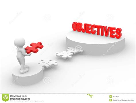 design management objectives puzzle stock photography image 26704132