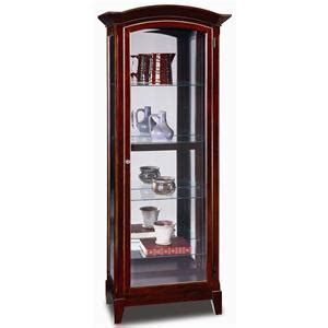 leick furniture curio cabinets leick furniture curio cabinets and consoles arched top