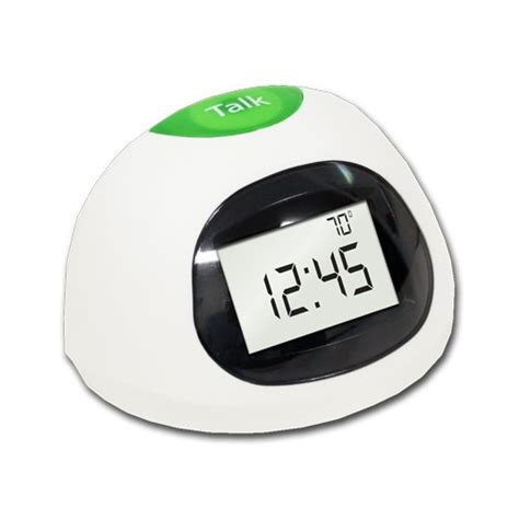 datexx lcd talking alarm clock with temperature new free shipping ebay
