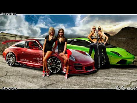 Porsche Girls by Porsche Car Girls Wallpapers