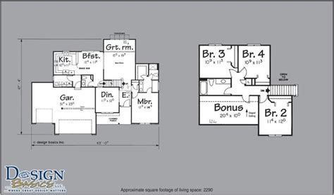 2200 sq ft house plans 4 bedroom house plans 2200 square feet