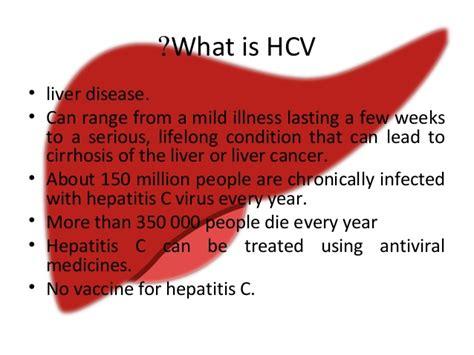 Detoxing Liver Heptiitis C by Hepatitis C In