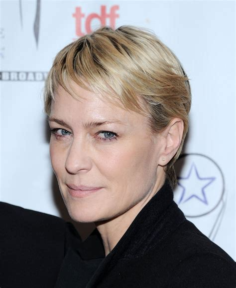 robin wright penns short hair robin wright s pixie haute hairstyles for women over 50