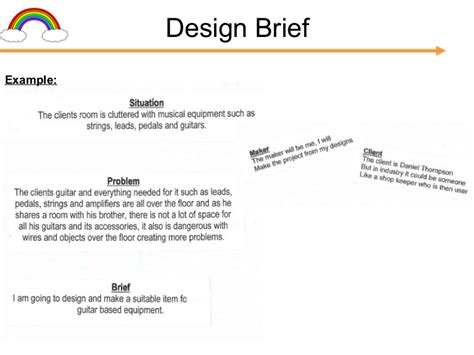 design brief for resort gcse folder presentation c cox v1 1