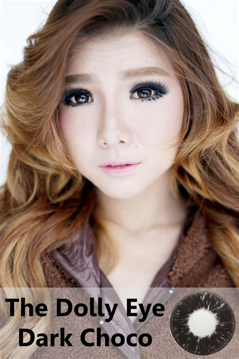 Eye Softlens Grey softlens dolly eye choco 22 8mm softlens