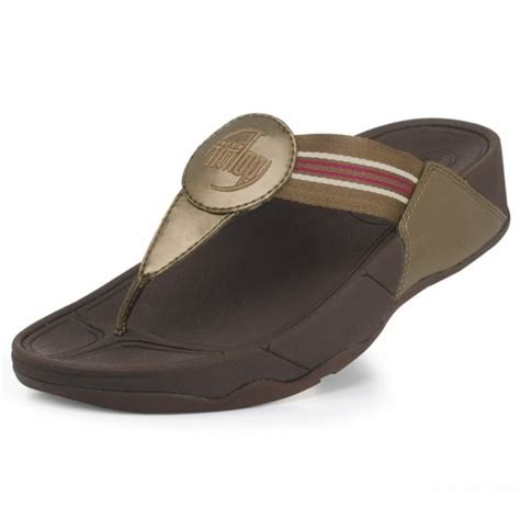 fitflop walkstar womens sandals bronze womens from