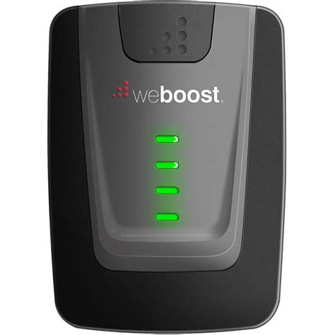 weboost home 4g cellular signal booster for 1 2 rooms