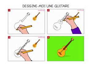 apprendre 224 dessiner une guitare en 3 233