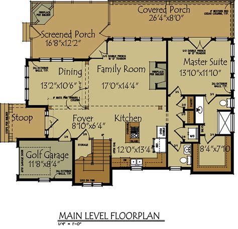 cottage open floor plan small lake cottage floor plan max fulbright designs
