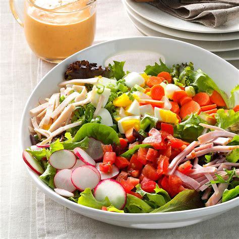 garden fresh chef salad recipe taste  home