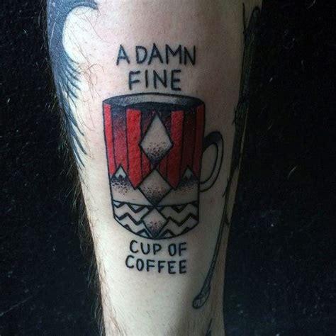 40 Twin Peaks Tattoo Designs For Men Tv Ink Ideas 12 Damn Peaks Tattoos