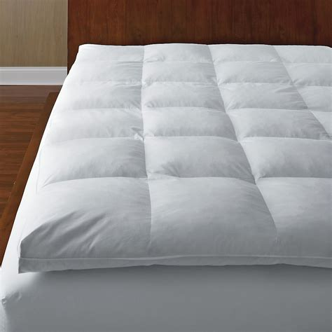 feather bed topper feather mattress topper the bay 28 down mattress topper